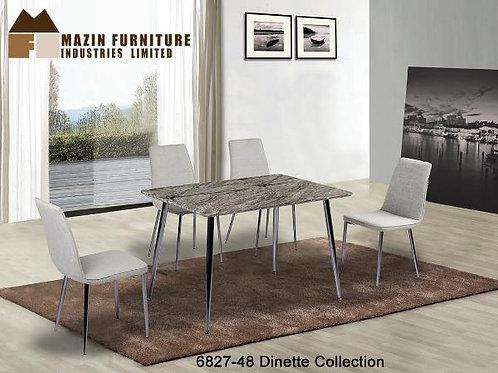 Shangri-La Collection Faux MarbleDinette Table