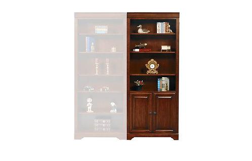 "Country Cherry 32"" Bookcase W/Door"