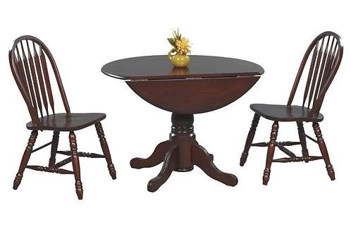 "Vintage 42"" Table W/ 2 X 9"" Drop Leaf"