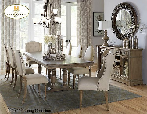 Prestige Dining Collection w/ 2 Extensions