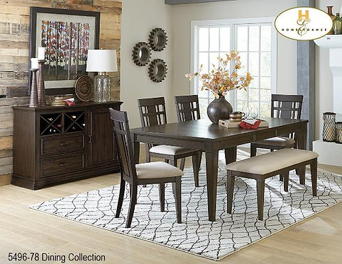 Makah Collection Oak Dining Table