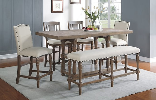 """Sonoma 78"""" Tall Table W/ 18"""" Butterfly Leaf"""