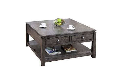 """Lancaster 40"""" Square Coffee Table"""