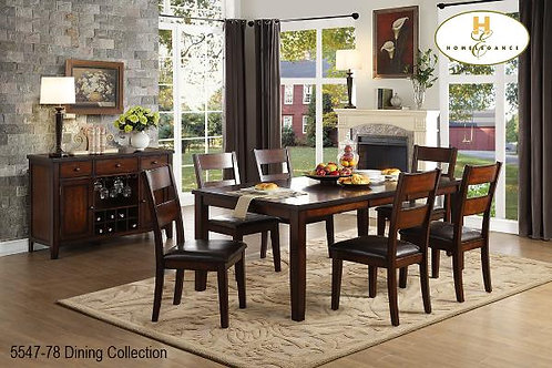Atlanta Collection Dining Table