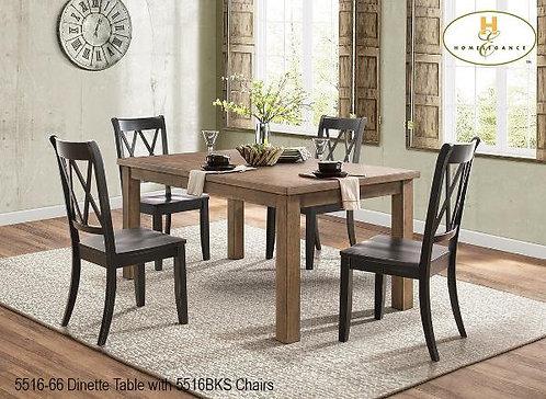 Janina Collection Sand-thru Side Chair