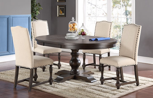 "Sonoma 66"" Oval Pedestal Table"