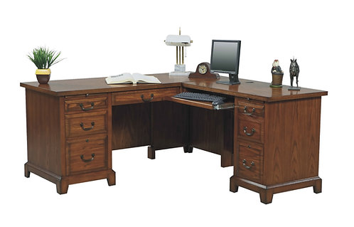 "Zahara 66"" Desk W/ 42"" Return"