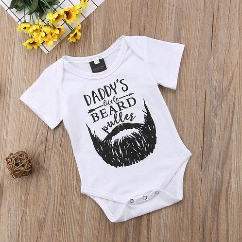 Daddy's Little Beard Puller Onesie