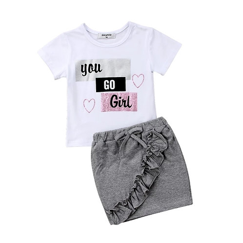 You Go Girl 2 Pc Set
