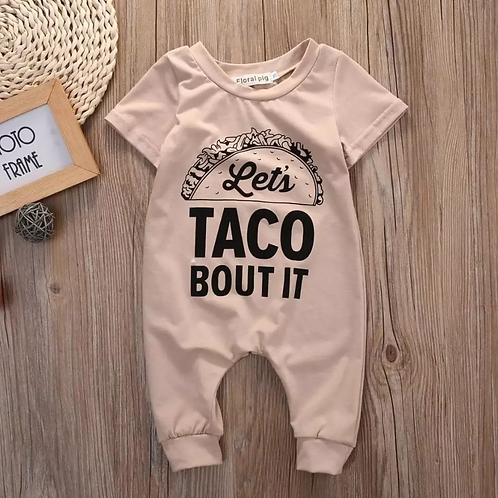 Unisex Let's 🌮 Bout It Romper