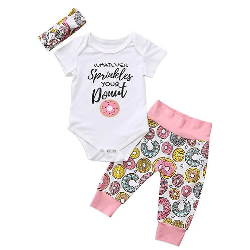 Whatever Sprinkles your donut🍩 3pc Set