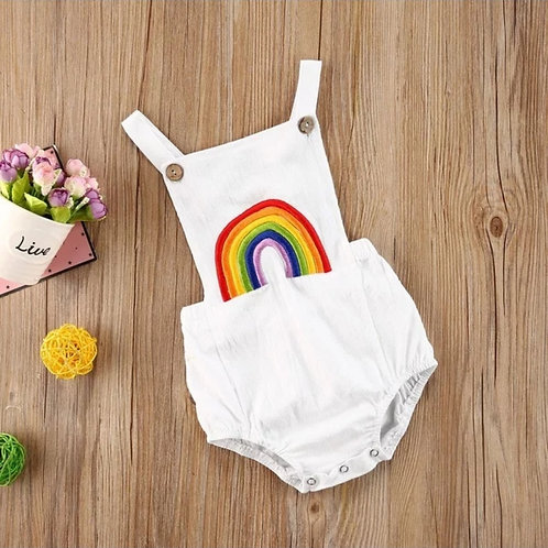 Rainbow Sleeveless Jumpsuit🌈