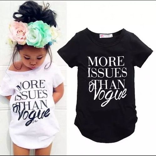 Black More Issues T-Shirt