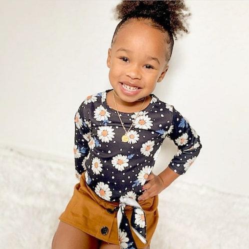 Daisy Floral Skirt Set