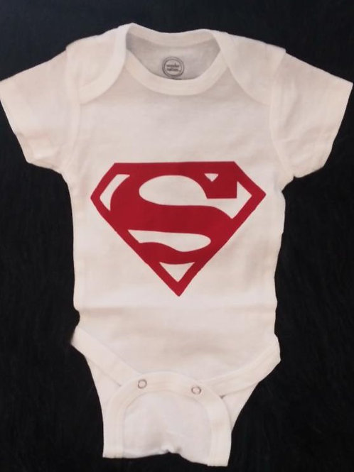 Custom Made Superman Onesie