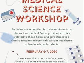 Medical Science Workshop for Students