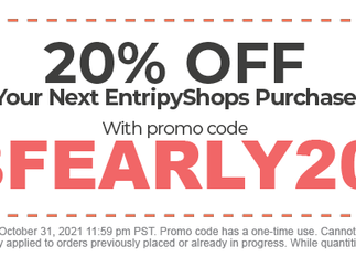 Black Friday Deals start early at our THS Official Gear entripyshop!