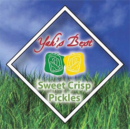 Sweet Crisp Pickles