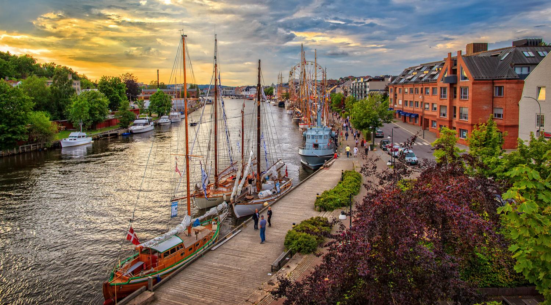 Fredrikstad (Foto av Eirik Dahl / Visit Hvaler)