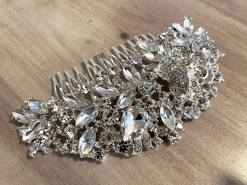 Crystal heaven hair comb