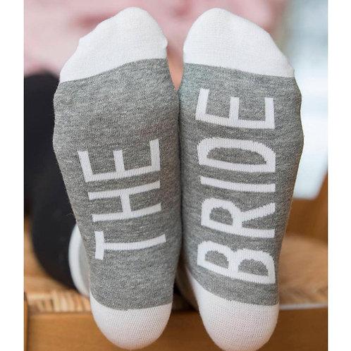 Bridesmaid/ Bride Socks