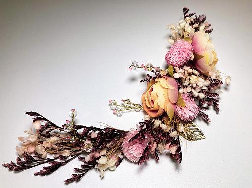 Half Flower hair wreath