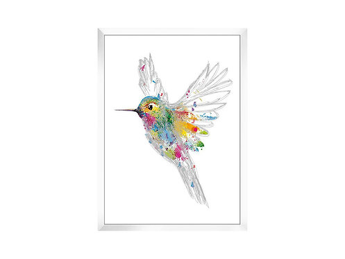 Framed Picture Hummingbird