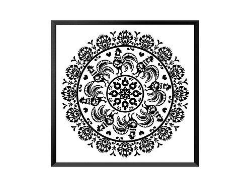 Framed Picture Mandala