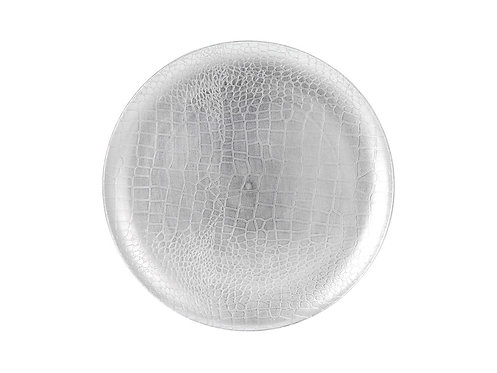 Round Place Mat Silver