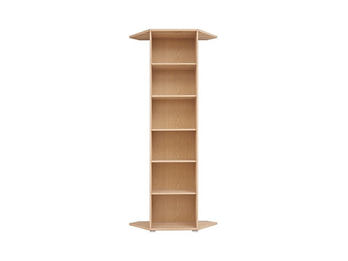 Corner Bookshelf BRW Office