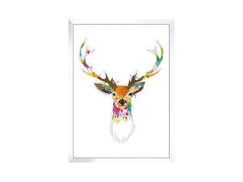 Framed Picture Deer