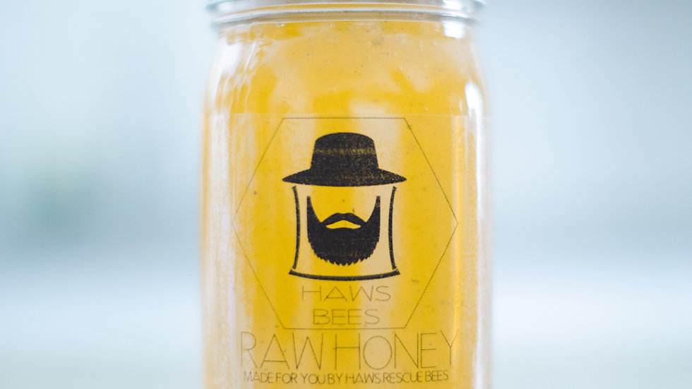 Orange Blossom 100% Raw Honey