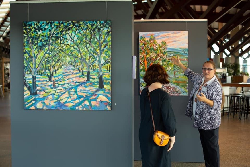 Solo Exhibition at the National Arboretum Canberra