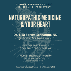 FREE EVENT!  Naturopathic Medicine & Your Heart