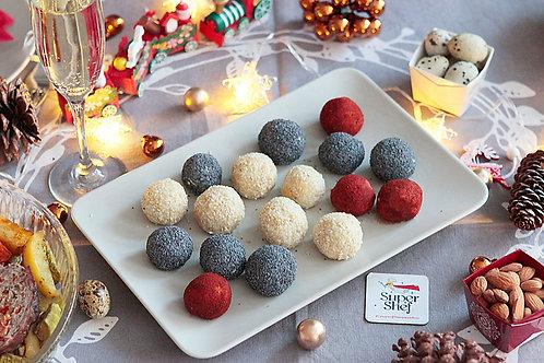 Сырные шарики с миндалем