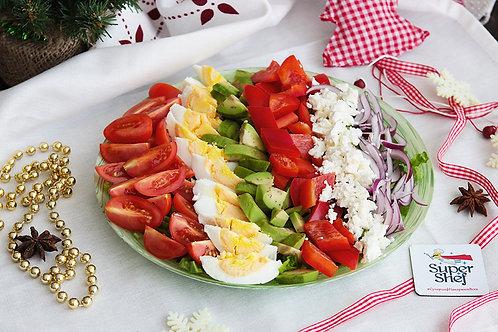 Свежий салат «Новогодний фейерверк»