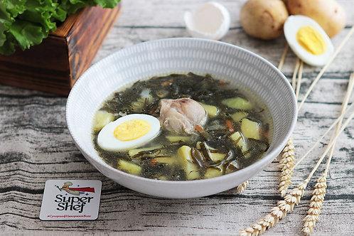 Дальневосточный суп с морской капустой