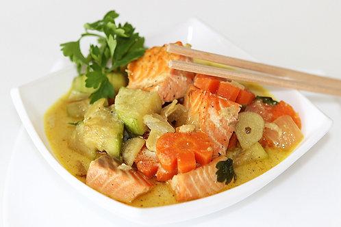 Азиатское рыбное рагу