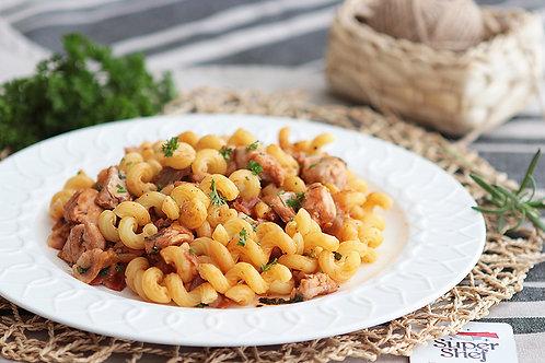 Мясная паста по-итальянски