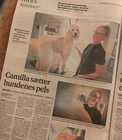 Så kom salonen også i lokal avisen 😃👍🏻