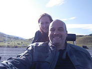 Andy and Sue from Beacons Trike Tours