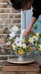 April 4 bouquet in front of outside door.jpg
