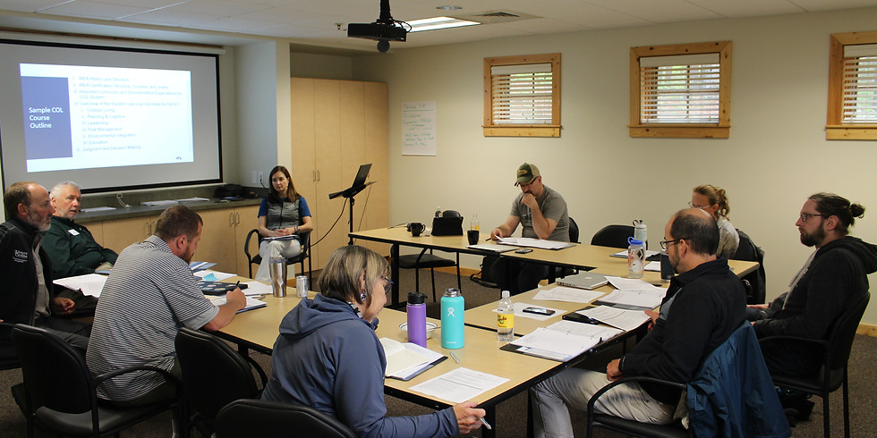 2nd Nature TREC to host a Wilderness Education Association (WEA) Certified Outdoor Educator (COE) clinic