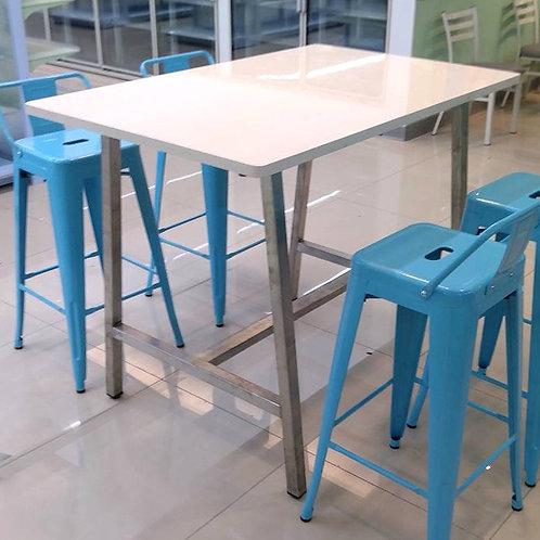 高腳方桌120