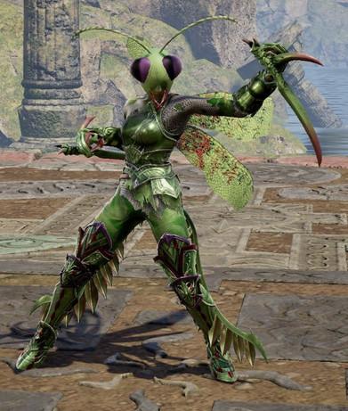 Ariusia Mantis Warrior