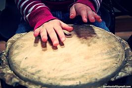 SambaStef drumming workshop for kids primary schools african drumming for kids tiny hands on drum