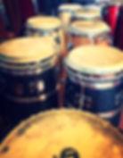SambaStef Conga hand drum open & slap hand drumming classes