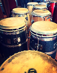 SambaStef Conga hand drum open & slap hand drumming classes