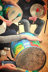 SambaStef junk percussion upcycling recycled music drumming workshops