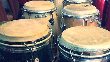 SambaStef drumming workshop brazilian samba for all agogo tamborim ganza mineiros